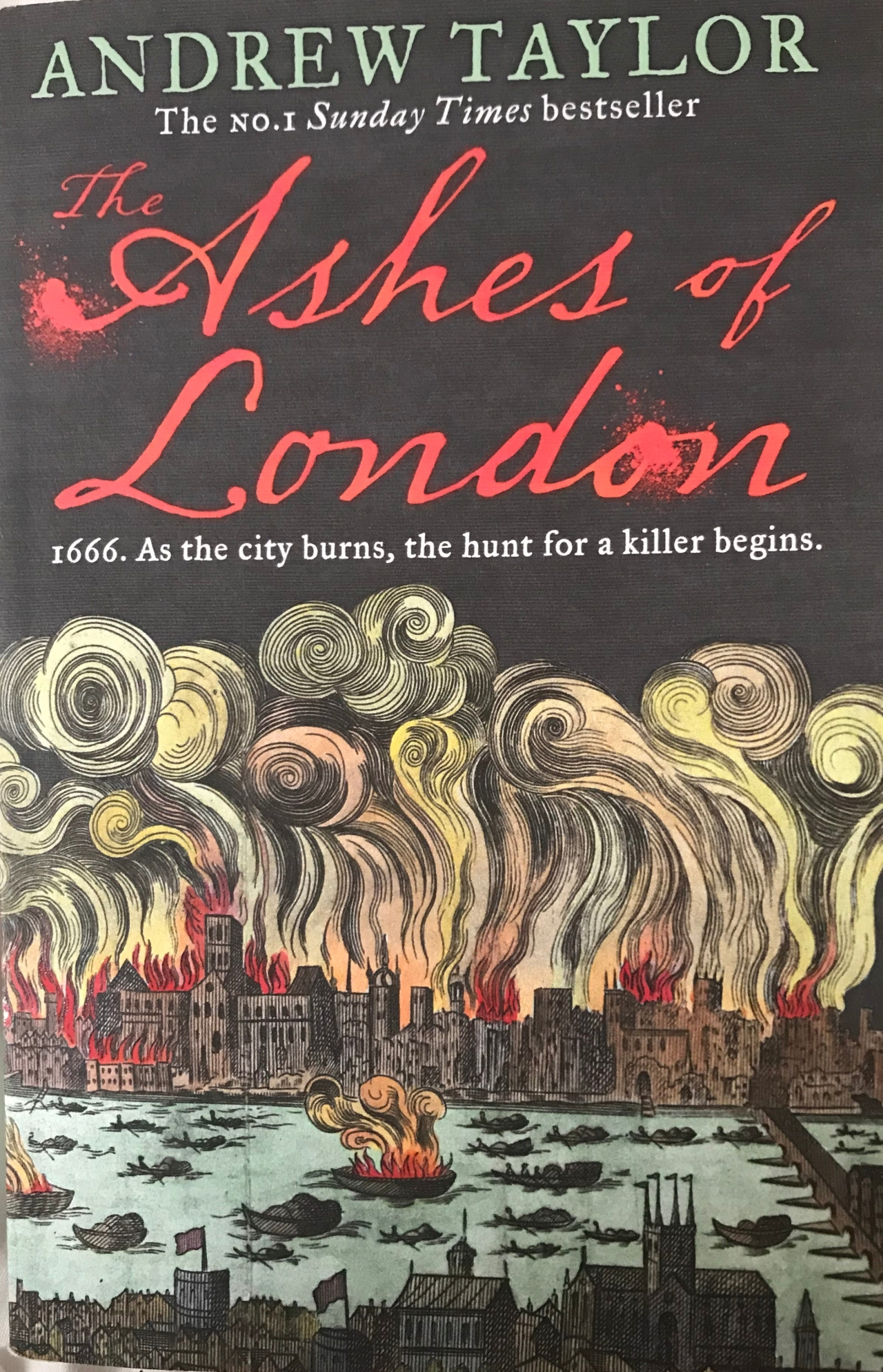 Book of the Month: Ashes of London