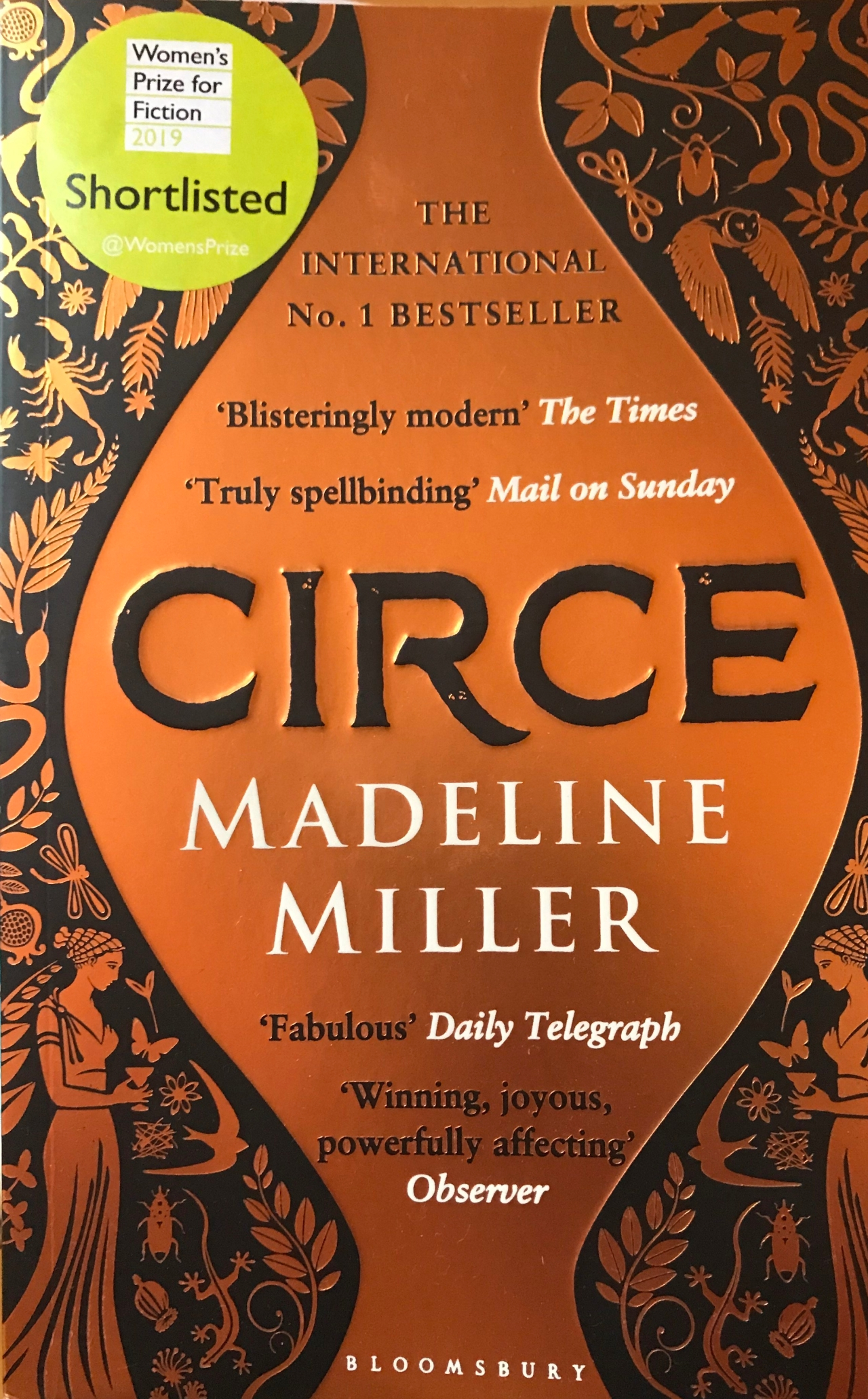 Book of the Month:Circe