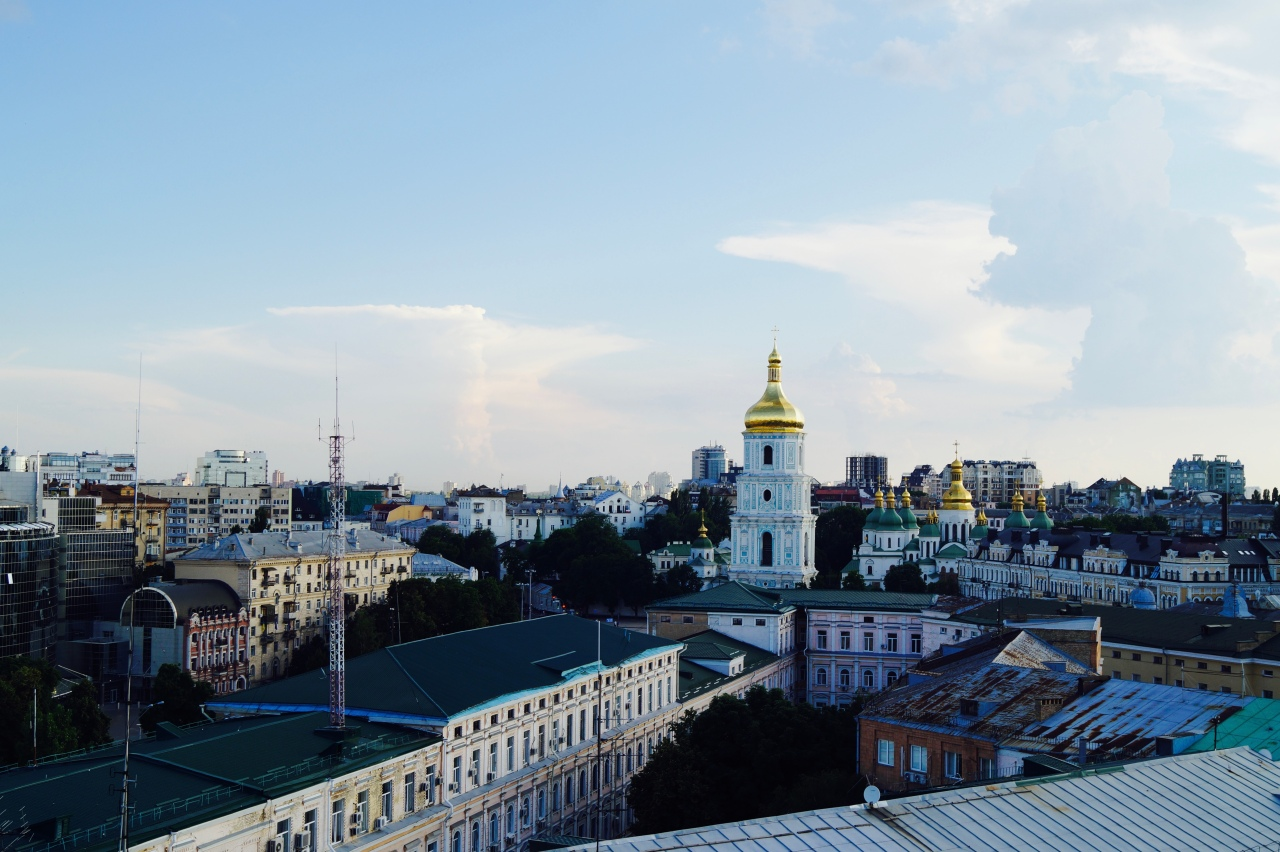 Two Days in Kiev, Ukraine