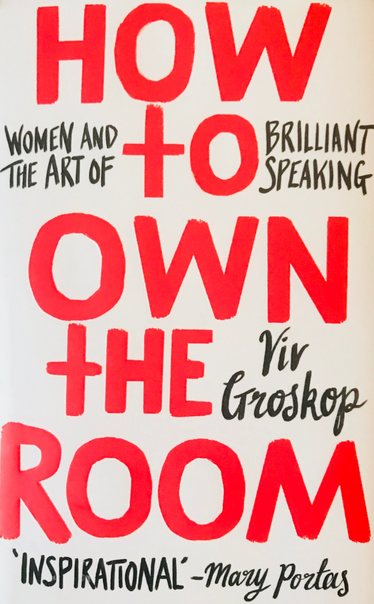 Book of the Month: How to Own the Room